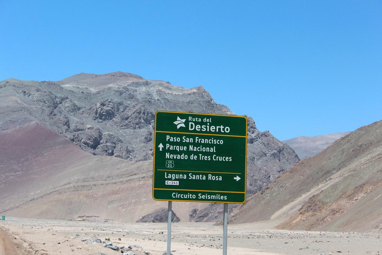 Desvío a Laguna Santa Rosa