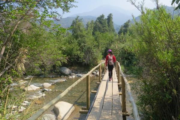 Cruzando Río Clarillo