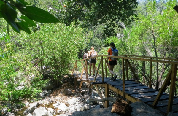 Cruzando último puente