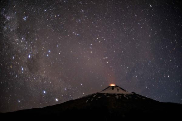 Villarrica nocturno