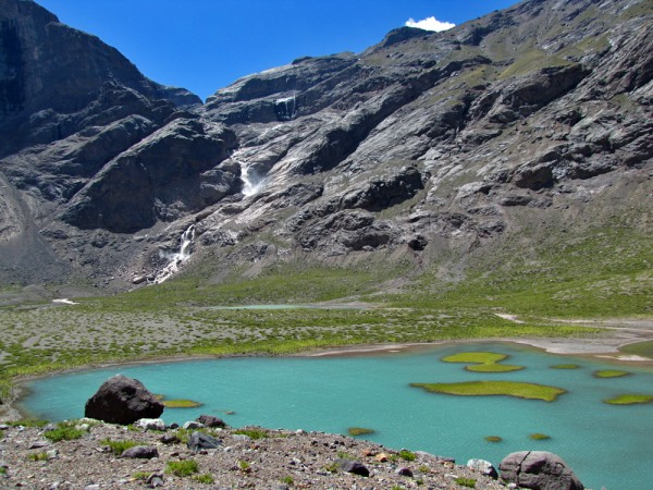 Laguna junto al Gran Salto