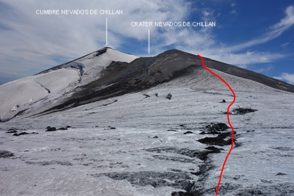 Cruce de glaciar