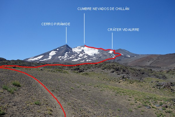 Ruta Normal Nevado de Chillán