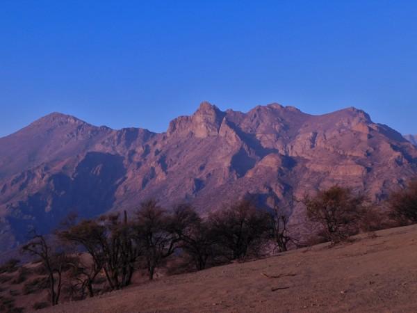 Cerros Algarrobo y Guanaco