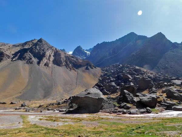 Quebrada de la Avalancha.