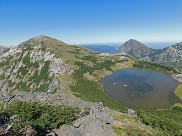 Innominado, laguna de los Patos y cerro La Pepa
