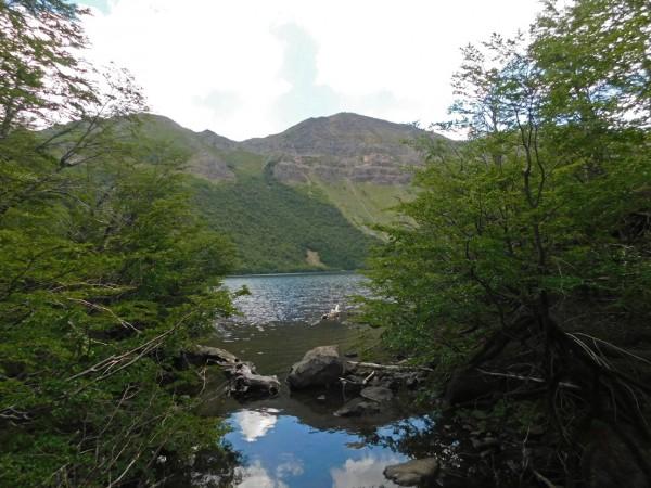 Laguna Carinancagua y cerro Potro del Diablo