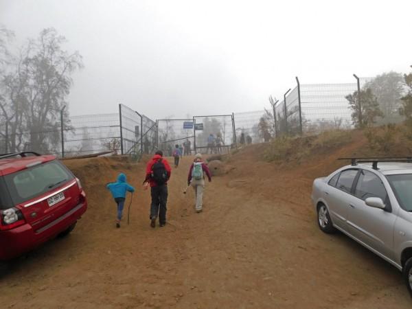 Entrada al sendero
