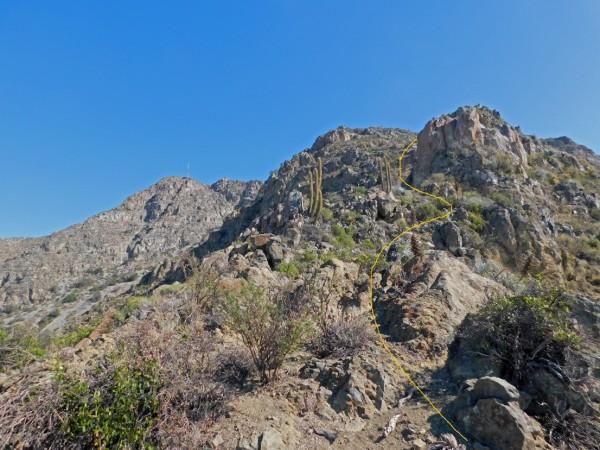 Torreón rocoso