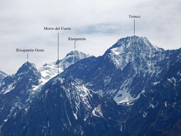 Morro del Fierro y vecinos