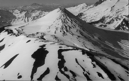Volcán Antuco (foto aérea)