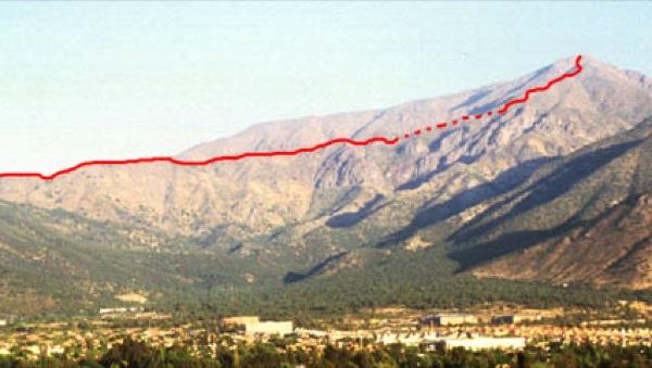 Desde cerro Calán