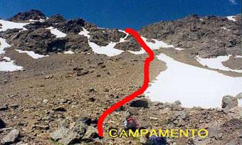 Donde acampar
